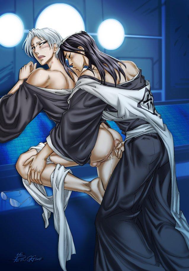 бьякуя снимает проститутку рукию